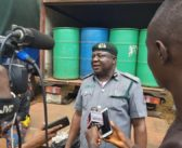 Customs intercept 40 drums of ethanol, fake currency notes in Ogun