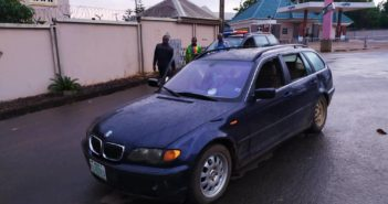 Police recover abandoned vehicle in Anambra