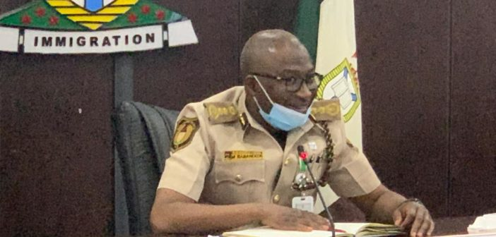 Immigration boss cautions officers against unofficial charges on int'l Passports