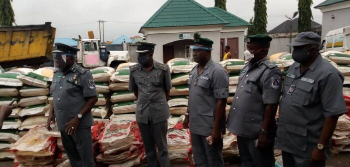 Customs: Again, FOU Zone C Owerri impounds foreign rice, others worth N91M