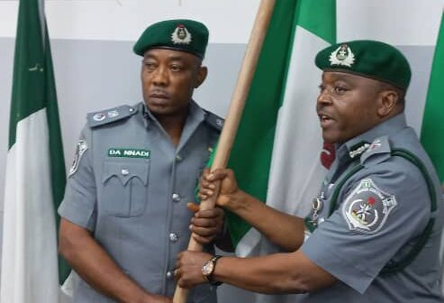 Compt. Nnadi takes over as new Customs Area Controller, Ogun I Command